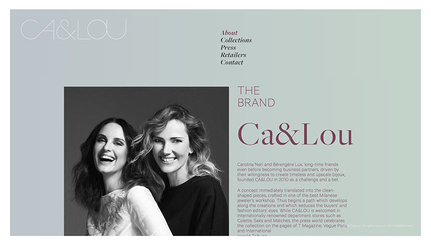 Ca&Lou Web Site