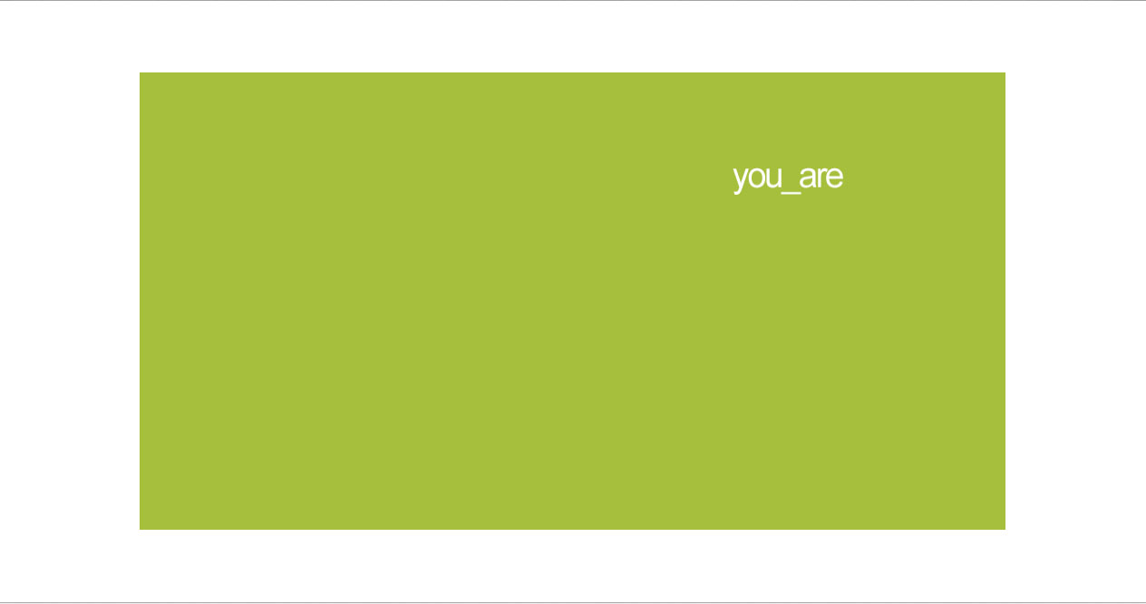 YouAre Web Site