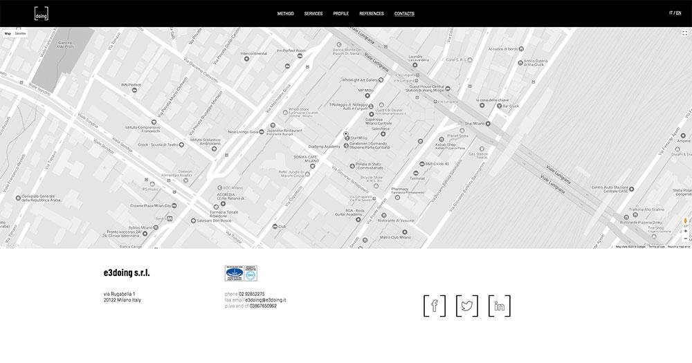 E3 Doing Web Site