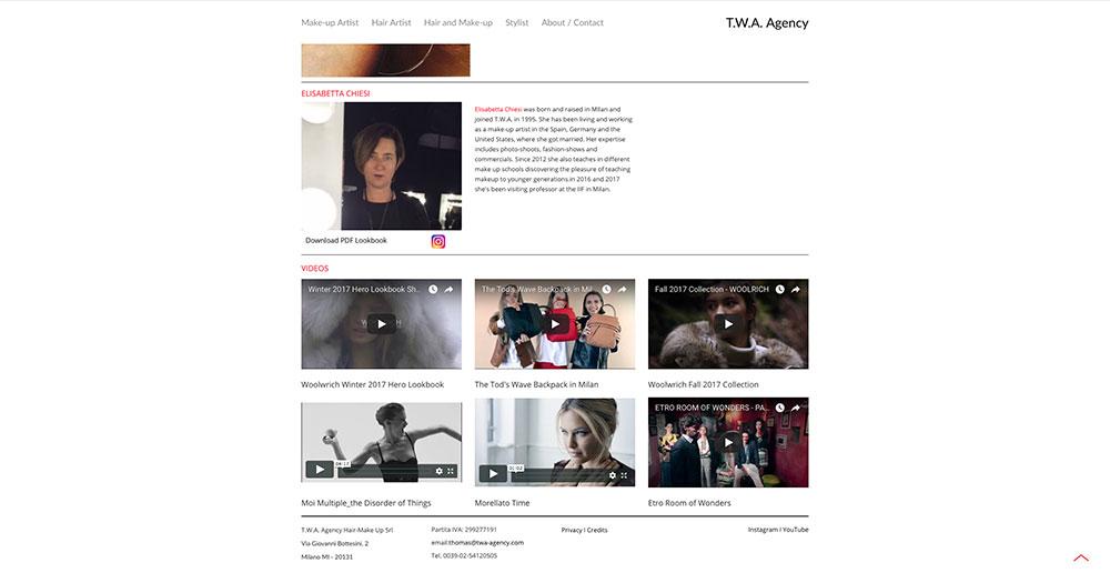 TWA Web Site