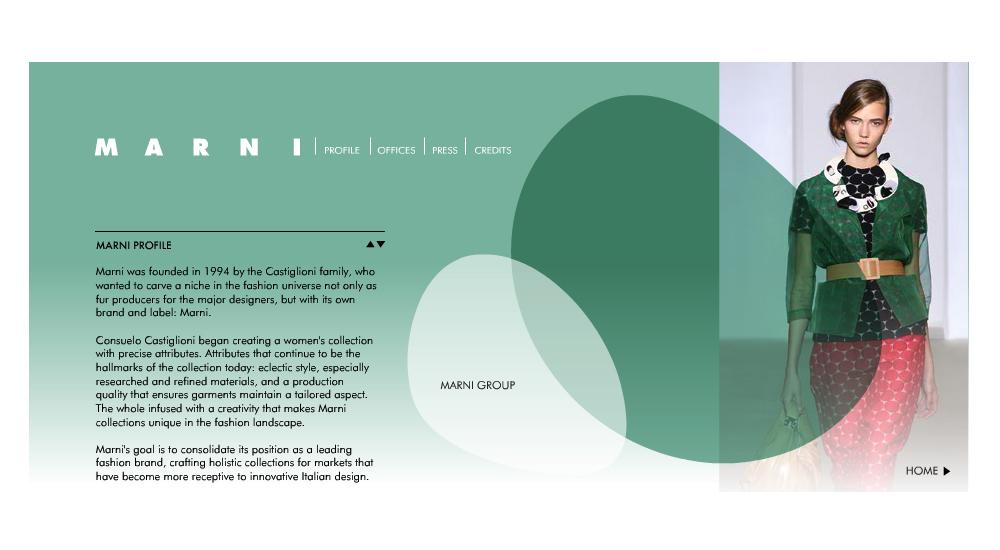 Marni Web Site
